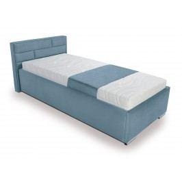 Jednolůžková postel 90 cm Kate Futon (tyrkysová)