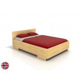 Manželská postel 180 cm Naturlig Larsos High (borovice) (s roštem)