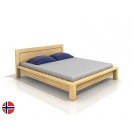 Manželská postel 200 cm Naturlig Fjaerland (borovice) (s roštem)