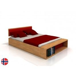 Manželská postel 160 cm Naturlig Invik (buk) (s roštem)