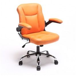 Kancelářské křeslo Gared (oranžová)