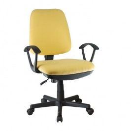 Kancelářská židle Colby (žlutá)