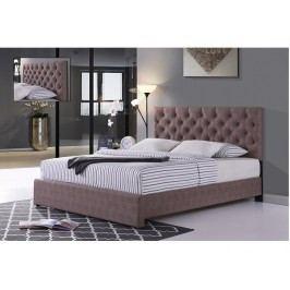 Manželská postel 160 cm Clover (s roštem)
