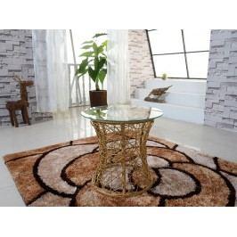 Příruční stolek Salmar (béžová)