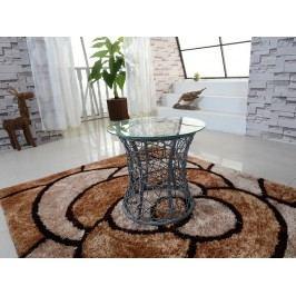 Příruční stolek Salmar (šedá)