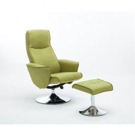 Relaxační křeslo Lonato (zelená)