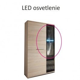 LED osvětlení ve stylovém moderním podbarvení SALSA-SALESA