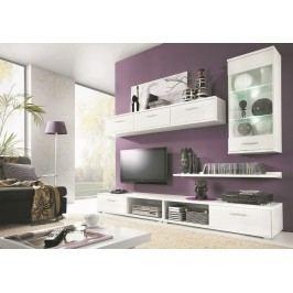 Obývací stěna v elegantní bílé barvě KN367