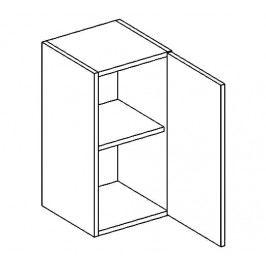 W30/58 horní skříňka jednodvéřová grafit bis KN2000
