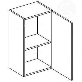 Skříňka horní EKRAN WENGE š.50cm W 50 - pravá Do kuchyně
