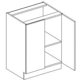 Skříňka dolní EKRAN WENGE š.60cm D 60