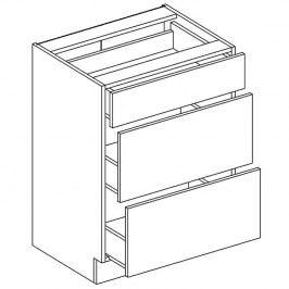 Skříňka dolní EKRAN WENGE š.60cm D 60 s3