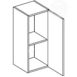 Skříňka horní EKRAN WENGE š.30cm W 30 - pravá