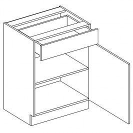 Skříňka dolní OLIWIA D60 S/1 pravá