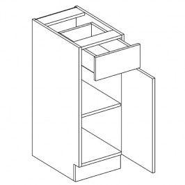 Skříňka dolní 30cm ALINA D30S/1 pravá