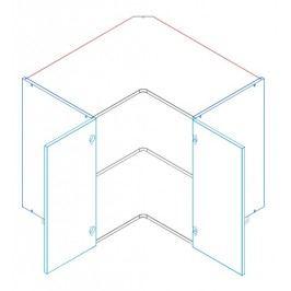 Skříňka dolní rohová ANNA DRP 90x90 cm