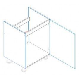 Skříňka dolní dřezová EWA D60 ZL1 pravá