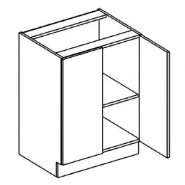 D60 dolní skříňka dvojdvéřová PREMIUM de LUX hruška