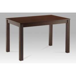 Jídelní stůl dřevěný 120 x 75 cm dekor ořech BT-6957 WAL AKCE