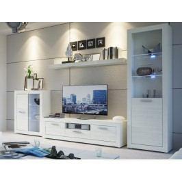 Obývací stěna MATRIX bez LED osvětlení Obývací stěna