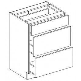 D60/S3 dolní skříňka se zásuvkami KN1810 D/B