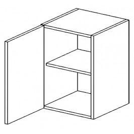 W60L horní skříňka jednodvéřová SANDY STYLE