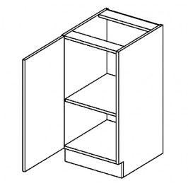 D40L dolní skříňka jednodvéřová POSNANIA