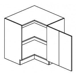 DRPP dolní skříňka rohová COSTA 90x90 cm
