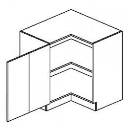 DRPL dolní skříňka rohová COSTA 80x80 cm
