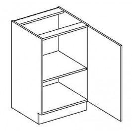 D50P dolní skříňka jednodvéřová COSTA