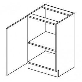 D50L dolní skříňka jednodvéřová COSTA