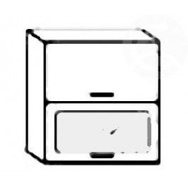 W60SP horní skříňka výklopná PREMIUM de LUX hruška