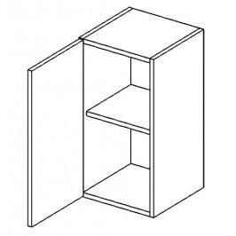 W40L horní skříňka jednodvéřová PREMIUM hruška