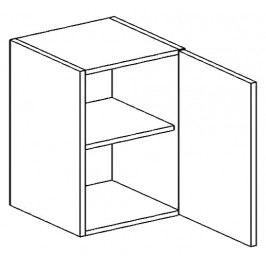 W60P horní skříňka jednodvéřová PREMIUM hruška