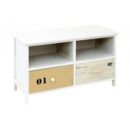 Dřevěná lavice se šuplíky SOFIE LA703264