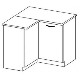 DRP dolní rohová skříňka CHAMONIX levá