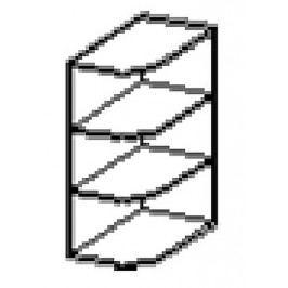 WPO horní otevřený roh SONOMA pravý