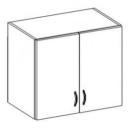 W60 horní skříňka dvoudveřová LIMED