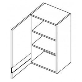 Horní vitrína levá 60 cm dub picard WS60 KN411 Do kuchyně
