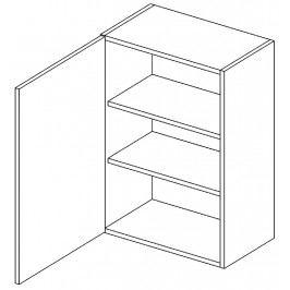 Horní skříňka levá 60 cm dub picard W60 KN411