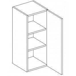 Horní skříňka pravá 30 cm dub picard W30 KN411