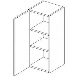 Horní skříňka levá 30 cm dub picard W30 KN411