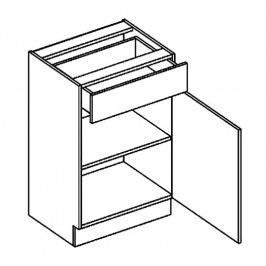 D50/S1 dolní skříňka se zásuvkou sonoma KN2000