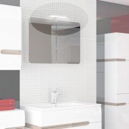 Osvětlení k zrcadlové skříňce v moderní bílé barvě Kombibox TK026