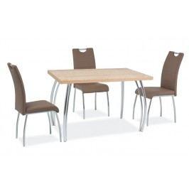 Jídelní stůl 120x68 cm v barvě dub sonoma KN525