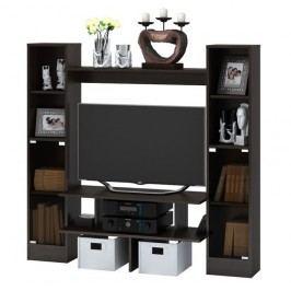 Praktická TV stěna v dekoru wenge KN532