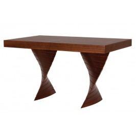 Jídelní stůl, MDF, masiv buk,160x90cm, FREDO