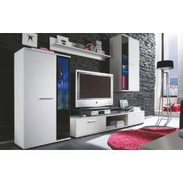 Obývací stěna bílá KN018