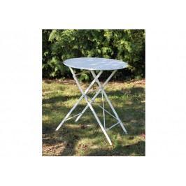 Kovový stolek, bílý OBR764654