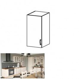 Horní skříňka s dvířky, levá, sosna skandinávská, ROYAL G40